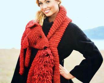 Tutorial Fox women scarf