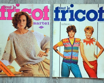 Set of 2 magazines all knitting (Vintage)