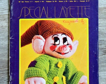 Magazine wool and needles 181 - Special baby (Vintage)