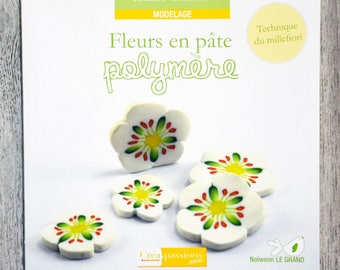 NEW - polymer clay flowers