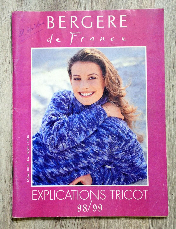 Bergere De France Magazine Creations Aw15 16: Magazine Explication Tricot Bergère De France 1998-1999