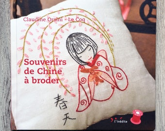 NEW - Book China souvenir embroidery