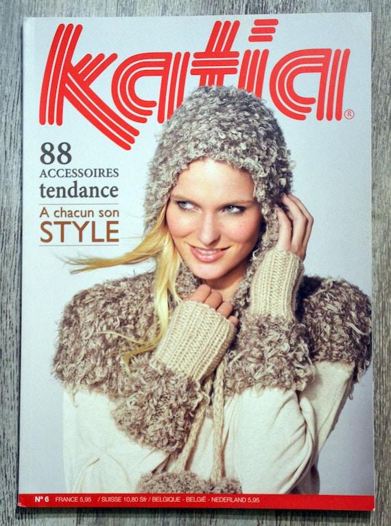 Magazine tricot katia 6 Accessoires tendance   Etsy 78dc2726926d