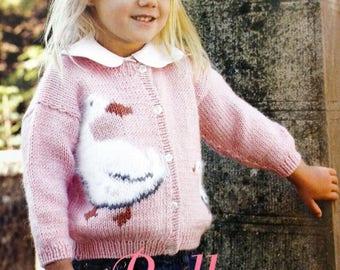 Pink floral vest for girl duck tutorial
