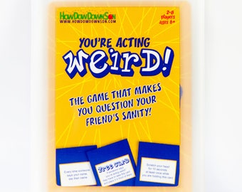 You're Acting Weird Card Game