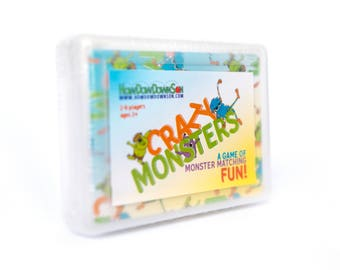 Crazy Monster Card Game