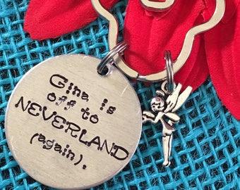 Personalized Disneyland Keychain