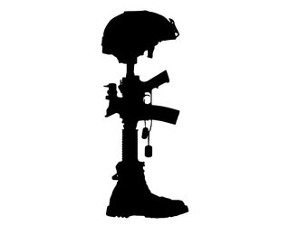 fallen soldier etsy