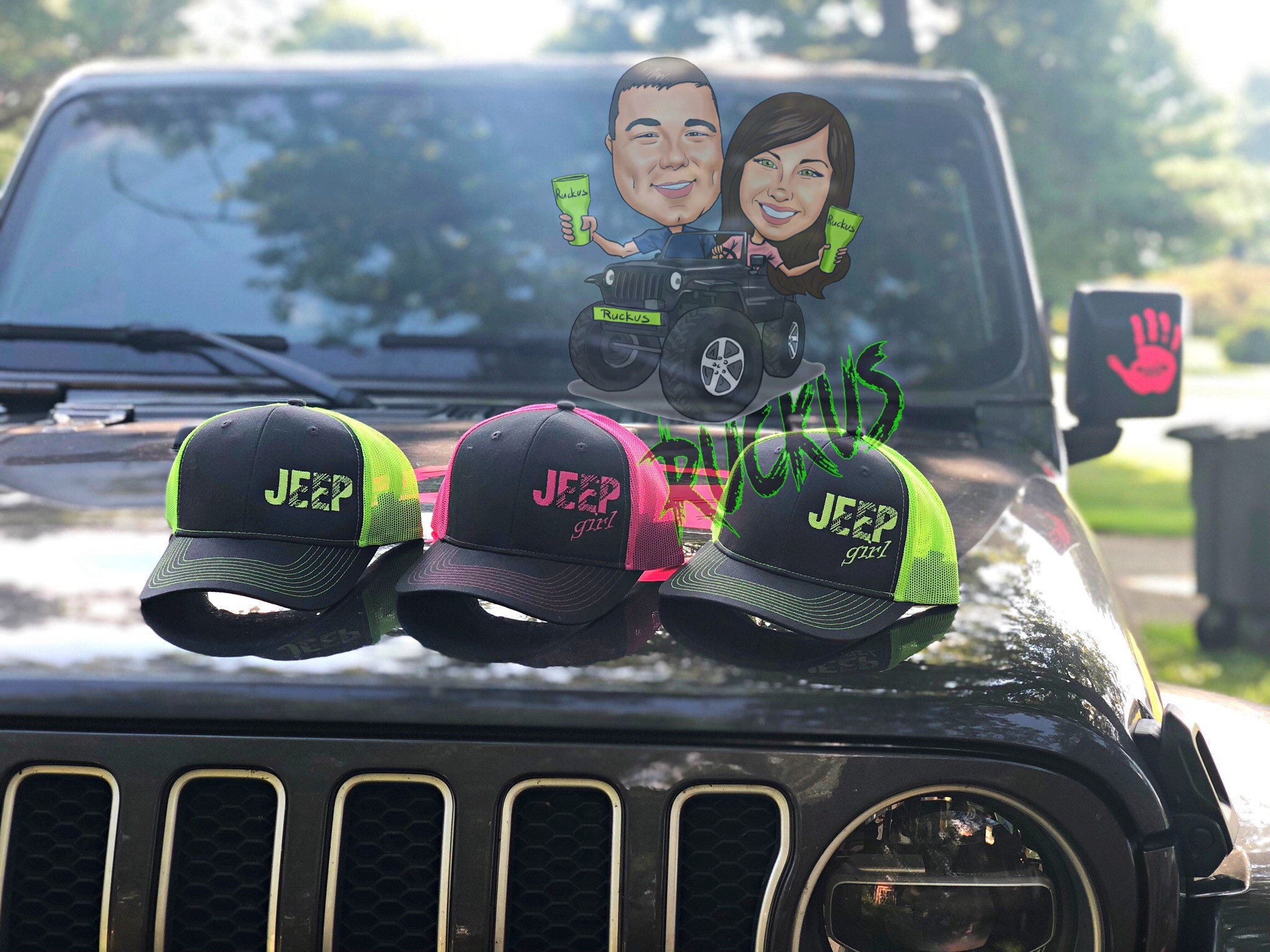 a571bd3ad7d Jeep or Jeep girl hat