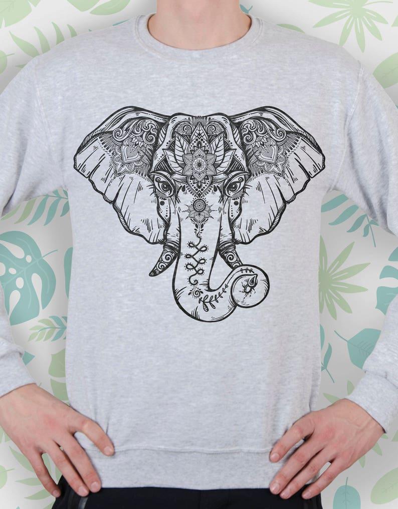 067845c37163 Sweatshirt elephant Sweater elephant Sweatshirt women Sweater   Etsy