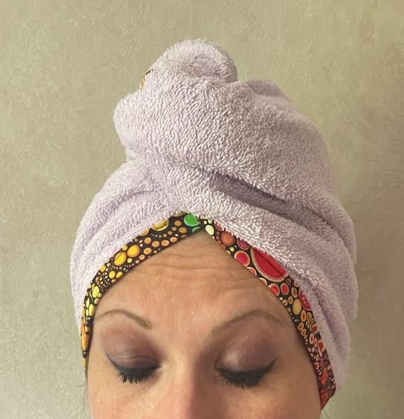 hair towel / Bath turban / hair care towel
