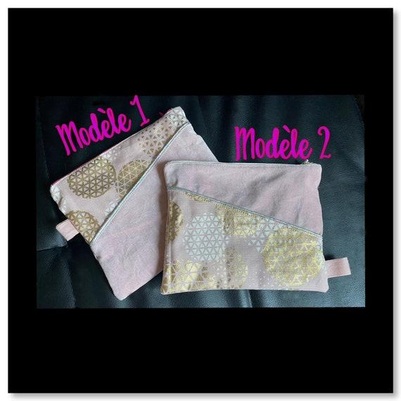 zippered pouch /make-up jacket