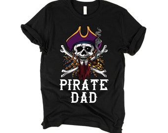 c8122c81 Pirate Shirt Dad Shirt Skull Shirt Crossbones Pirate Costume Mens Shirts  Gifts For Dad Fathers Shirt Pirate Flag Gasparilla