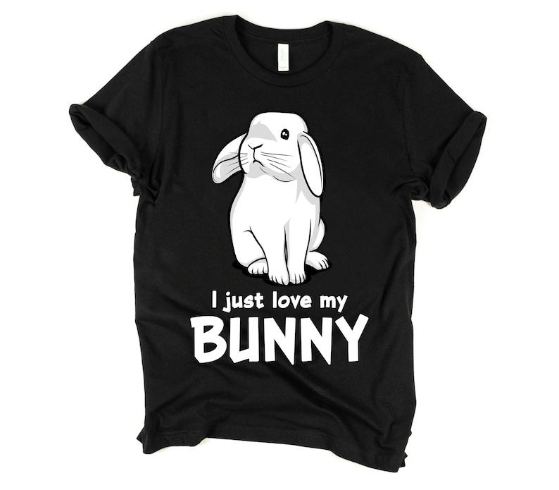 7d29690d2 Rabbit Shirt Cute Bunny T-Shirt Funny Rabbit Gifts Pet | Etsy