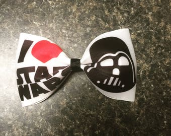 Large Star Wars bow on a clip