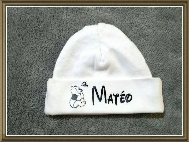 a05abe5ef0837 Personalized name baby Hat