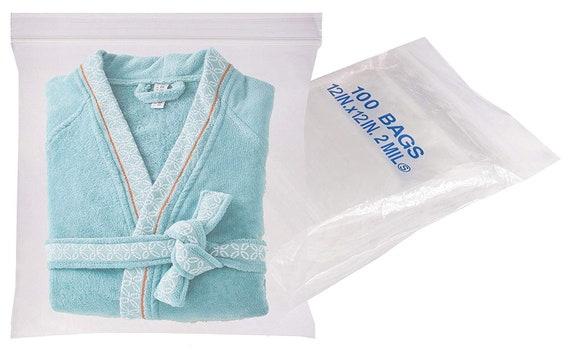 "500 Clear 6 x 10/"" 2 Mil Reclosable Resealable Ziplock Zipper Poly Plastic Bags"