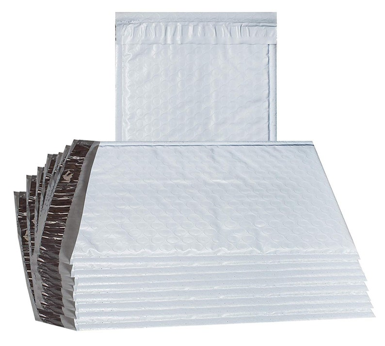 KRAFT Bubble Shipping Padded Envelopes Mailers 5x7-10 pack New!