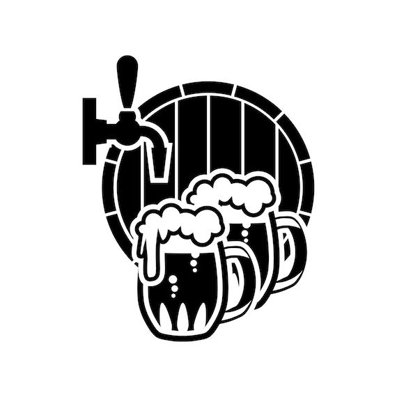Whiskey Logo Bottle #4 Barrel Pub Bar Tavern Brew Brewery Brewing Alcohol Drink Ribbon Label .SVG .EPS .PNG Vector Cricut Cut Cutting File