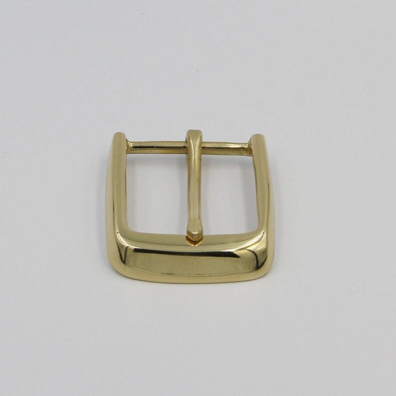 Gold Buckle Brass Polished Belt Fastener Buckle 40 mm