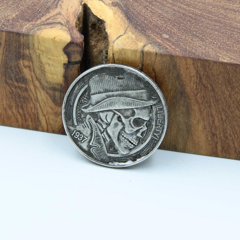 Hobo Coin Cowboy Skull Coins