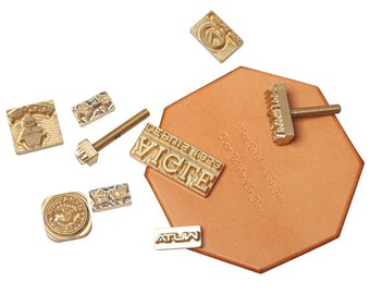 Leather Stamp,Iron Stamp,Branding Stamp,Customized Logo Stamp,Embossed Stamp,Wood Stamp Personalized