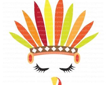 INSTANT DOWNLOAD - Thanksgiving SVG Bundles, Thanksgiving Clipart, Thanksgiving Png, Autumn Clip Art, Turkey Svg, Turkey Face Svg,Turkey Png