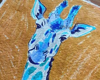 Giraffe Single Piece Artprint