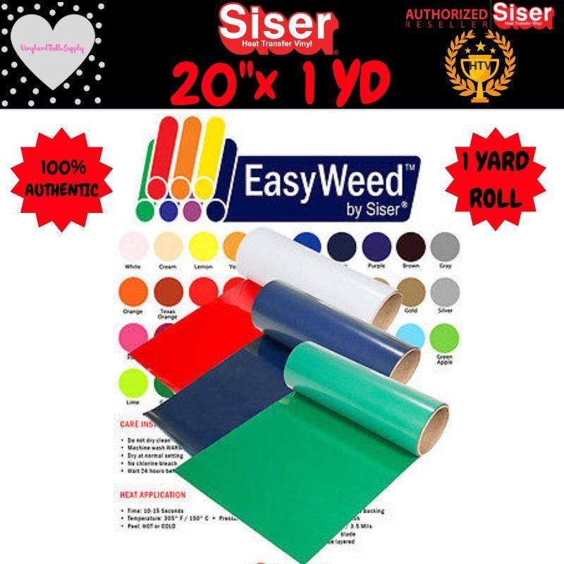 20 X 1 Yd Siser Easyweed Heat Transfer Vinyl 20 X 1