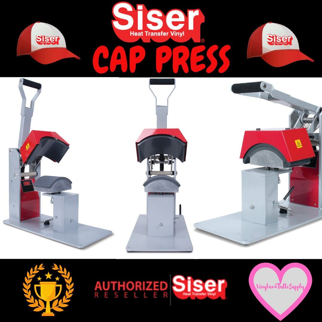 Red Siser Hat Heat Press / Hat Heat Press / Heat Press