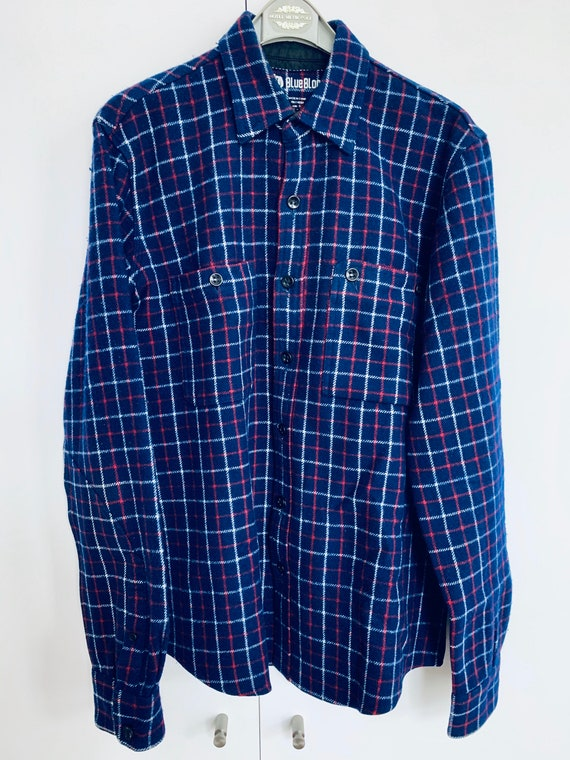 BLUE BLOOD OVERSHIRT