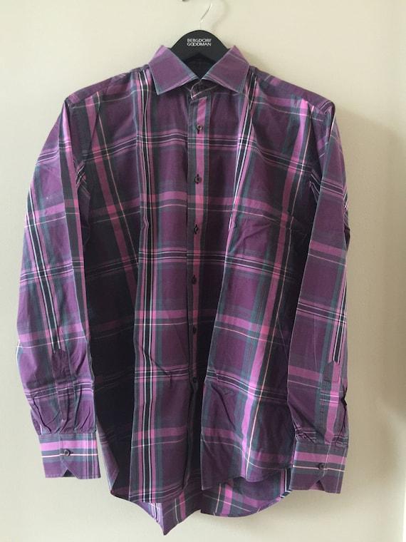 ETRO men's madras shirt