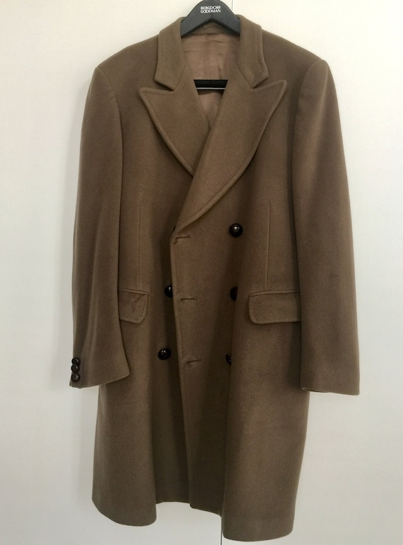 Vintage double breasted overcoat