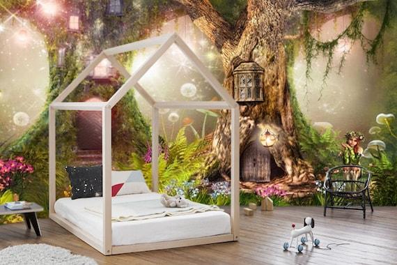 Wallpaper Self Adhesive Vinyl Magical Forest Nurserymagic