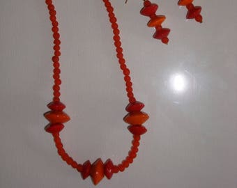 Fancy Red and orange jewels