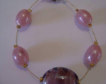 Purple-pink bracelet