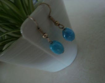Fancy turquoise earrings