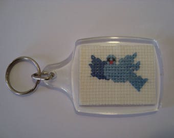 Blue Bird keychain