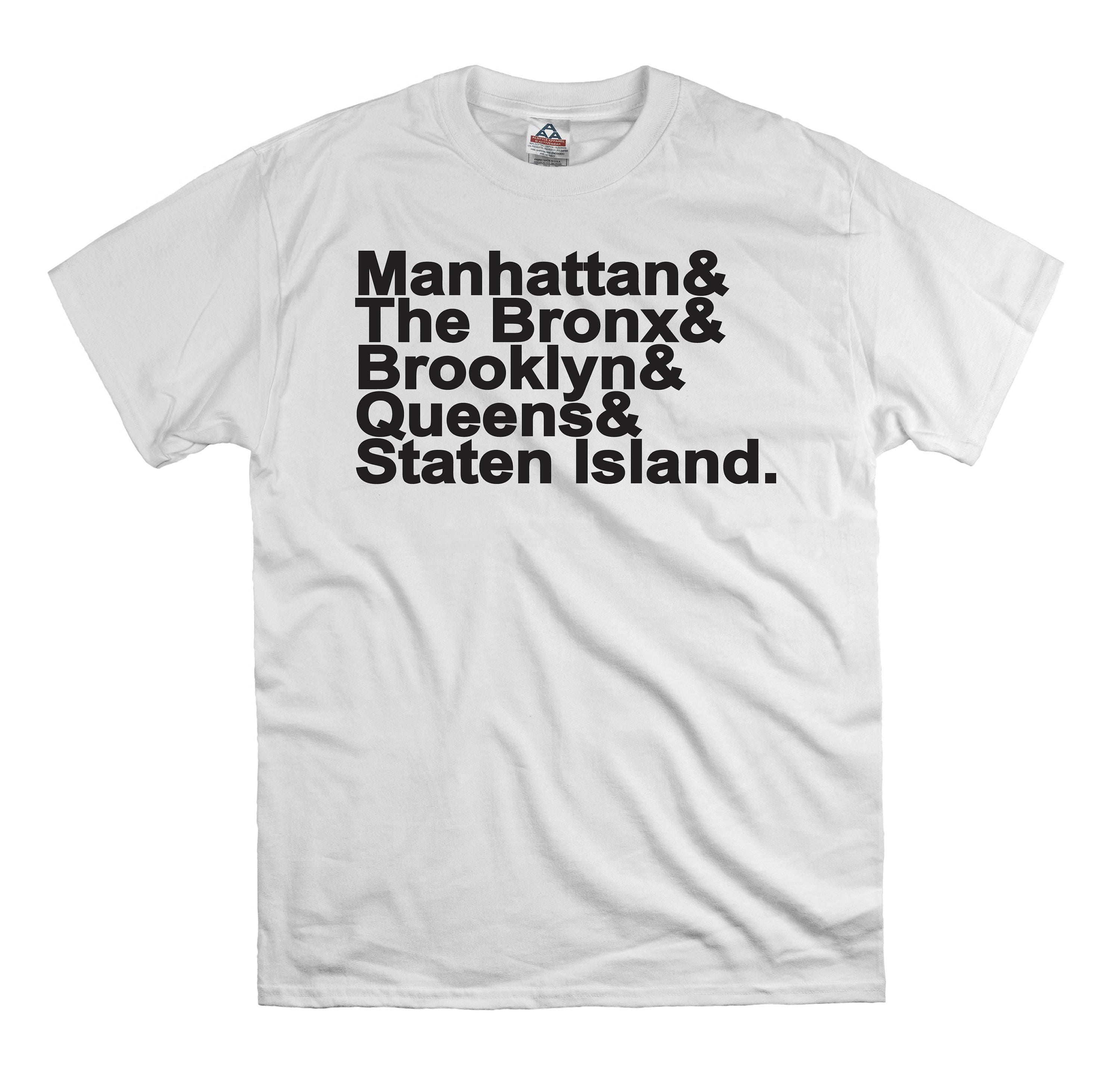 New York City Names States T Shirt Tee Shirt Gift Dad Fathers Etsy