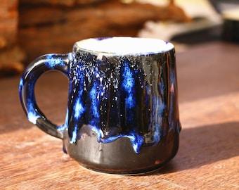 Handmade Artisan Coffee Mug | Large Coffee Mug | Ceramic Coffee Mug | 20 Oz Pottery Coffee Mug | Coffee Lover Gift | Caffeine Addict