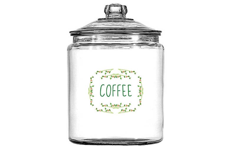 DOWNLOAD Printable Labels Kitchen Counter Canisters Coffee Sugar Flour  3-1/3x4\