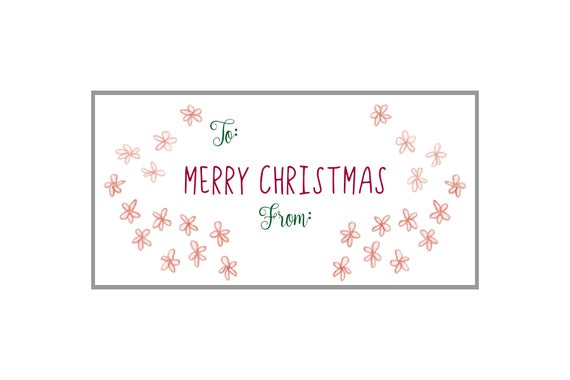 Win Free Christmas Gift Labels Avery 5663