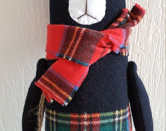Soft toy bear, toy for children,  Stuffed Animal & Plushies 100% Handmade 38 cm