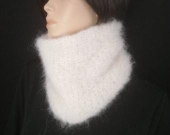 91b330aaa584 snood femme en alpaga et laine,grand col doux   chaud,accessoire mode hiver  laine,écharpe col tour du cou fil très doux noir blanc gris bleu