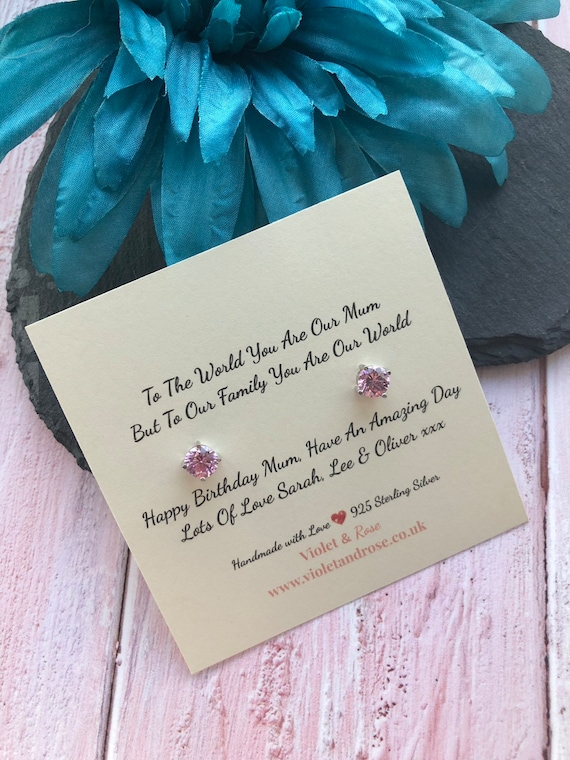 Birthday Present For Mum Gifts For Mum Mom Mother MUM MOTHER Personalised Gift Thank You Poem Thank You Mum Bespoke Poem For Mum