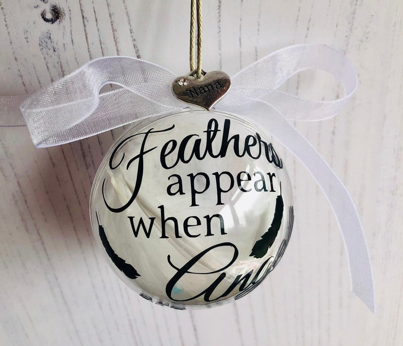 Memorial Christmas Decorations Gift Personalised Engraved ...