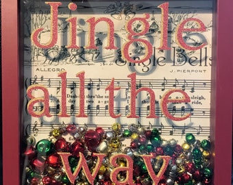 Jingle Bells Shadow Box