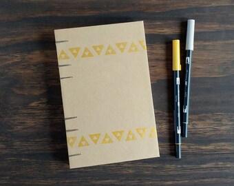 Travel Journal   Triforce Journal, Lined Notebook, Dot Grid, Writing Journal, Triforce, Bujo Journal, Geek Gift, Gamer Gift, Sketchbook