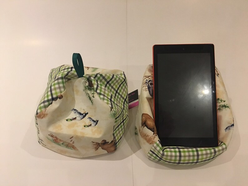 Various Kindle Designs listed Travel size - Tablet cushion, Ipad Stand,  Cushion for Kindle, Cushion for iPad, E-reader stand, Tablet pillow