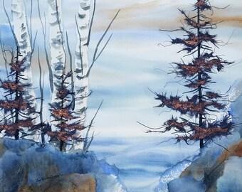 Lake View 8x10 Print
